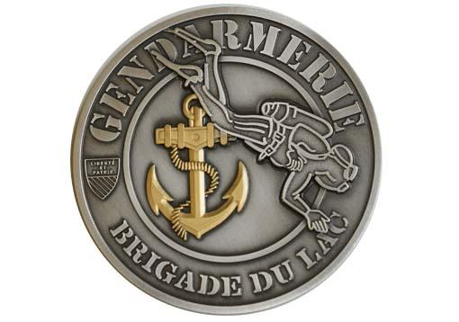 Médaille Brigade du lac