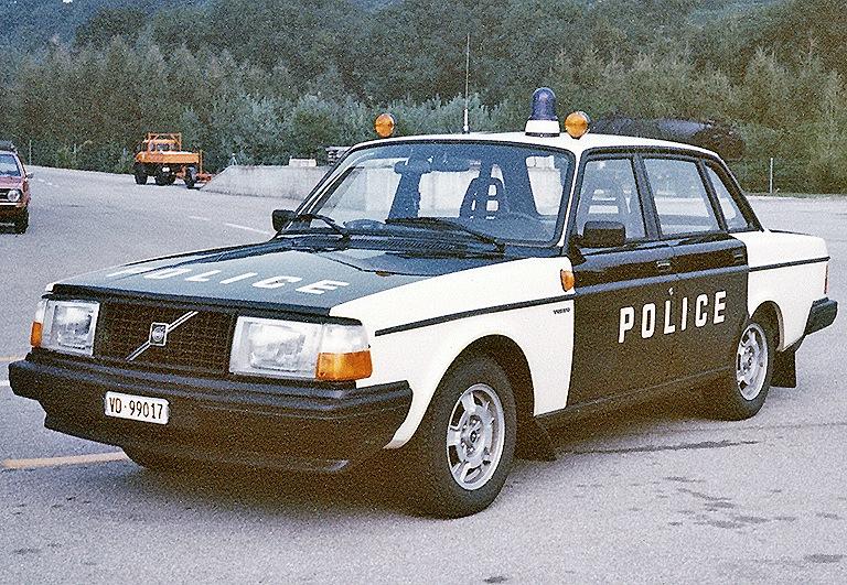 La Gendarmerie Vaudoise et Volvo